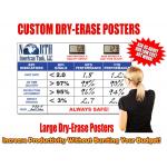 Dry Erase Vinyl Poster Printing